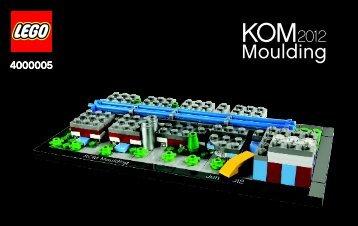 Lego Kornmarken Factory 2012 - 4000005 (2012) - LOM Moulding 2011 BI 3004/56+4-/115g+150g - 4000005 v.29