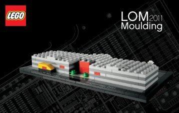 Lego LOM Moulding 2011 - 4000002 (2011) - LOM Moulding 2011 BI 3004/44+4-115+150g ART 4000002