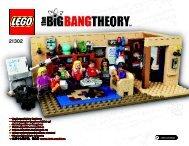 Lego The Big Bang Theory - 21302 (2015) - Shinkai 6500 BI 3018, 100+4/115+150g SILK 21302 V29