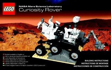 Lego NASA Mars Science Laboratory Curiosity R - 21104 (2014) - Shinkai 6500 BI 3004/104+4/115+350g 21104 V.46