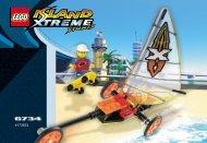 Lego Beach Cruisers - 6734 (2002) - Skateboarding Pepper BI 6734