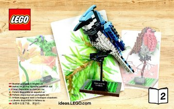 Lego Birds - 21301 (2015) - Shinkai 6500 BI 3004/72+4/115+150 - 21301 2/3 V. 46