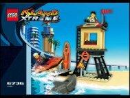 Lego Beach Lookout - 6736 (2002) - Skateboarding Pepper BI 6736