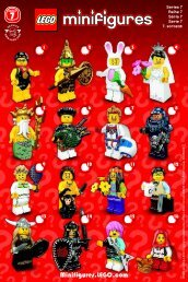 Lego LEGO® Minifigures, Series 7 - 8831 (2012) - LEGO® Minifigures, Series 2 BI. , 8831 V 29