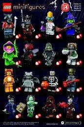 Lego LEGO® Minifigures, Series 14: Monsters - 71010 (2015) - LEGO® Minifigures, Series 9 BI. , 71010 V 29