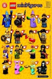 Lego LEGO® Minifigures, Series 12 - 71007 (2014) - LEGO® Minifigures, Series 9 BI. , 71007 V 29