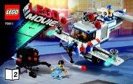 Lego The Flying Flusher - 70811 (2014) - MetalBeard's Sea Cow BI 3004/72+4*-70811V39 BOOK 2/3