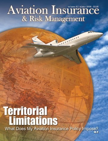 Territorial Limitations - Aviation Insurance & Risk Management ...