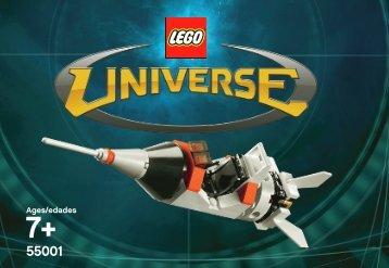 Lego LEGO Universe Rocket - 55001 (2010) - LEGO Universe Rocket BI 3001/16 -55001-V.46
