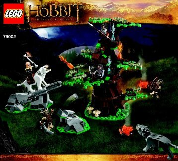 Lego Attack of the Wargs - 79002 (2012) - The Tower of Orthanc BI 3017 / 76+4 - 65/115g 79002 V29