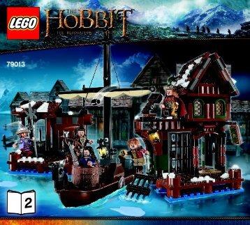 Lego Lake-town Chase - 79013 (2013) - The Goblin King Battle BI 3017 / 64+4 - 65/115g-79013 V39 2/2