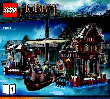 Lego Lake-town Chase - 79013 (2013) - The Goblin King Battle BI 3017 / 40 - 65g-79013 V29 1/2