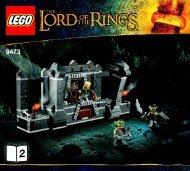 Lego The Mines of Moria™ - 9473 (2012) - Shelob™ Attacks BI 3017 / 60 - 65g, 9473 V39 2/2