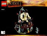 Lego The Goblin King Battle - 79010 (2012) - The Goblin King Battle BI 3016 80+4*- 79010 BOOK 2/3 V29
