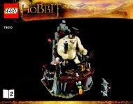Lego The Goblin King Battle - 79010 (2012) - The Goblin King Battle BI 3016 80+4*- 79010 BOOK 2/3 V39