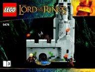 Lego The Battle of Helm''s Deep™ - 9474 (2012) - Shelob™ Attacks BI 3019/52-65G-9474 V39 3/4