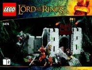 Lego The Battle of Helm''s Deep™ - 9474 (2012) - Shelob™ Attacks BI 3019/44-65G 9474-V29-2/4