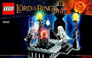 Lego The Wizard Battle - 79005 (2013) - The Tower of Orthanc BI 3003/36- 79005 V.29