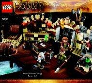 Lego Barrel Escape - 79004 (2012) - The Tower of Orthanc BI 3017 / 80+4 - 65/115g 79004 V29