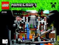 Lego The Mine - 21118 (2014) - Micro World - The Forest BI 3019/64+4*-21118 1/2 V29