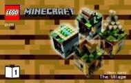 Lego Micro World – The Village - 21105 (2013) - Micro World - The Forest BI 3003/32-21105 V. 29 1/2