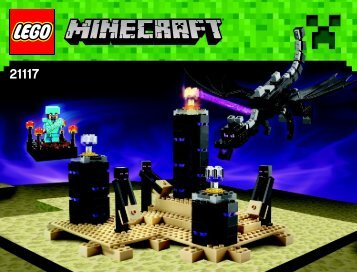 Lego The Ender Dragon - 21117 (2014) - Micro World - The Forest BI 3019/68+4*- 21117 V29