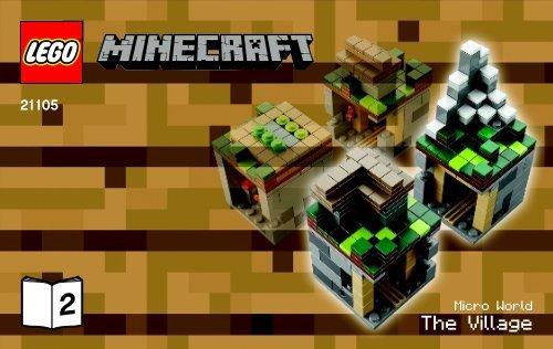 Lego Micro World – The Village - 21105 (2013) - Micro World - The Forest BI 3003/32-21105 V.29 2/2