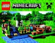 Lego The Farm - 21114 (2014) - Micro World - The Forest BI 3018/64+4/65+115g - 21114 V.39