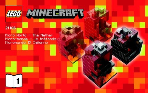 Lego Micro World – The Nether - 21106 (2013) - Micro World - The Forest BI 3003/32-21106 V.39 1/2