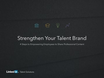 Strengthen Your Talent Brand