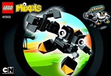 Lego Krader - 41503 (2014) - Flain BI 3001/24 - 41503 , V29