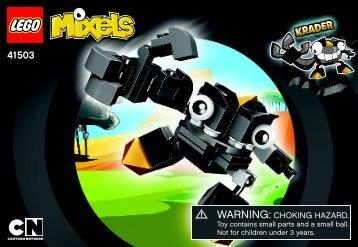 Lego Krader - 41503 (2014) - Flain BI 3001/24 - 41503, V39