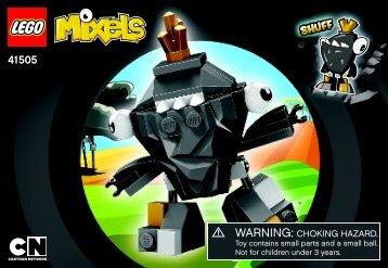 Lego Shuff - 41505 (2014) - Flain BI 3001/20, 41505, V39