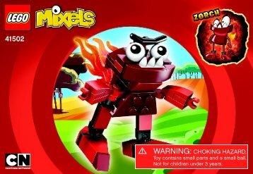 Lego Zorch - 41502 (2014) - Flain BI 3001/20, 41502, V39