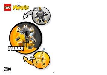 Lego Zaptor - 41507 (2014) - Flain Shuff + Zaptor