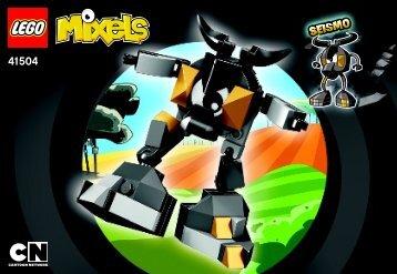 Lego Seismo - 41504 (2014) - Flain BI 3001/20, 41504, V39