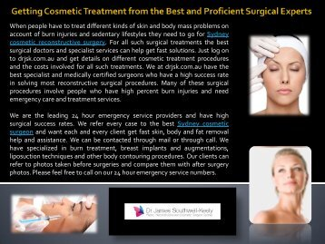 Laser Treatment Sydney