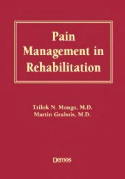 Pain Management in Rehabilitation - MaisFisio