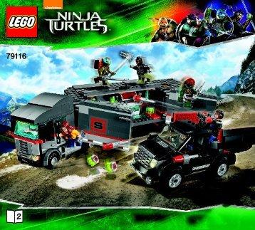 Lego Big Rig Snow Getaway - 79116 (2014) - Kraang Lab Escape BI 3017 / 72+4 - 65/115g-79116 V29 2/3
