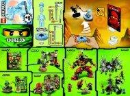 Lego NRG Zane - 9590 (2012) - Samurai X BI 2002/ 2 - 9590 V39 1/2