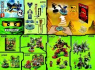 Lego Slithraa - 9573 (2012) - Samurai X BI 2002/ 2 - 9573 V39 1/2