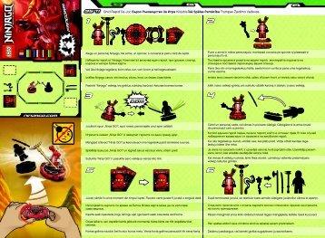 Lego Fangdam - 9571 (2012) - Samurai X BI 2002/ 2 - 9571 V29 EXTRA