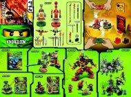 Lego LEGO® Ninjago Weapon Pack - 9591 (2012) - LEGO® Ninjago Weapon Pack BI 2002/ 2 - 9591 V39 1/2