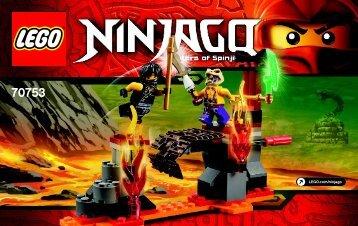 Lego Lava Falls - 70753 (2015) - Lava Falls BI 3003/36- 70753 V39