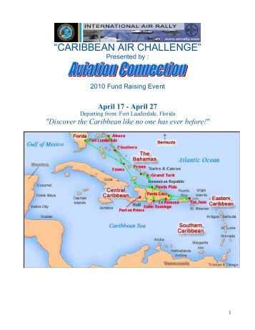 Saturday April 17: Governor General's Cup Caribbean Air Challenge ...