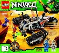 Lego Ultra Sonic Raider - 9449 (2012) - Destiny's Bounty BI 3017 / 76+4 - 65/115g, 9449 V29 2/2