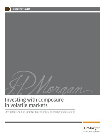 Investing with composure in volatile markets