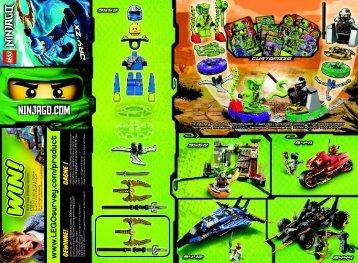 Lego Jay ZX - 9553 (2012) - Jay ZX BI 2002/ 2 - 9553 V29, V110