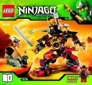 Lego Samurai Mech - 9448 (2012) - Destiny's Bounty BI 3005/48 - 9448 V29 1/2