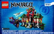 Lego Battle for Ninjago City - 70728 (2014) - OverBorg Attack BI 3004 60/ 70728 1/3 V29